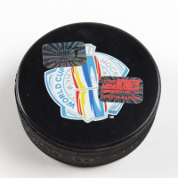 Brad Marchand Signed Team Canada Logo Hockey Puck (Marchand COA & YSMS Hologram) at PristineAuction.com