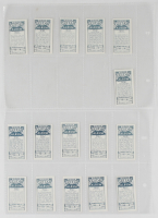 """Complete Set of (16) 1976 Polydor """"Guitar Legends"""" Cigarette Cards with Eric Clapton, B.B. King, Pete Townsend, Jimi Hendrix, Gregg Allman at PristineAuction.com"""