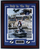 "Alex Killorn Signed 25.5x31.5 Custom Framed Photo Display Inscribed ""Party In The Bay!"" (Killorn COA) at PristineAuction.com"