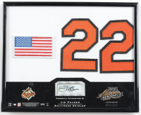 Jim Palmer Signed LE Orioles 8x10 Custom Framed Display (Playoff COA) (See Description) at PristineAuction.com
