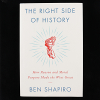 "Ben Shapiro Signed ""The Right Side of History"" Hardcover Book (Premiere Collectibles COA) (See Description) at PristineAuction.com"
