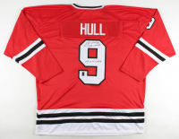 "Bobby Hull Signed Jersey Inscribed ""HOF 1983"" (Hull Hologram) at PristineAuction.com"
