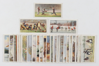 "Complete Set of (25) 1929 Churchman's ""Sports and Games in Many Lands"" Cigarette Cards with # 25 Babe Ruth Baseball at PristineAuction.com"
