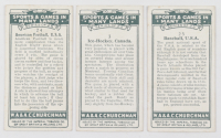 """Complete Set of (25) 1929 Churchman's """"Sports and Games in Many Lands"""" Cigarette Cards with # 25 Babe Ruth at PristineAuction.com"""