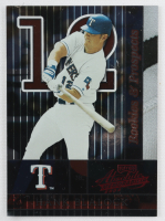 Hank Blalock Signed LE Rangers 8x10 Custom Framed Display (Playoff COA) (See Description) at PristineAuction.com