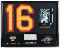 Aramis Ramirez Signed LE Rangers 8x10 Custom Framed Display (Playoff COA) (See Description) at PristineAuction.com