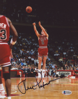John Paxson Signed Bulls 8x10 Photo (Beckett COA) at PristineAuction.com