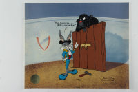 "Chuck Jones ""Bugs and Gulli-Bull"" Sold Out Limited Edition 13x16 Artist Proof Animation Cel at PristineAuction.com"