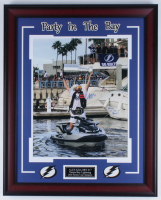 "Alex Killorn Signed Lightning 25.5x31.5 Custom Framed Photo Display Inscribed ""Party In The Bay!"" (Killorn COA) at PristineAuction.com"
