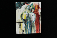 "Salvador Dali ""The Centurion"" Sold Out Limited Edition 8x10 Glazed Ceramic Tile at PristineAuction.com"