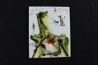 "Salvador Dali  ""Victim of Festivities"" SOLD OUT Limited Edition 8x10 Glazed Ceramic Tile at PristineAuction.com"