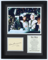 "Alec Guinness Signed 12.5x15.5 Custom Framed Cut Display Inscribed ""1999"" (Beckett LOA) at PristineAuction.com"