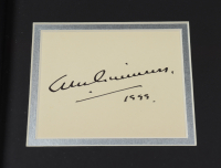 """Alec Guinness Signed 12.5x15.5 Custom Framed Cut Display Inscribed """"1999"""" (Beckett LOA) at PristineAuction.com"""