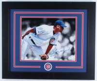 Kerry Wood Signed Cubs 19x23 Custom Framed Photo Display (JSA COA) (See Description) at PristineAuction.com
