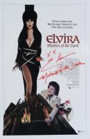 "Cassandra Peterson Signed ""Elvira, Mistress of the Dark"" 12x18 Photo Inscribed ""Mistress of the Dark"" & ""XX"" (Beckett COA) at PristineAuction.com"