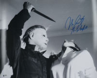"""Nick Castle Signed """"Halloween"""" 16x20 Photo Inscribed """"The Shape"""" (Beckett COA) at PristineAuction.com"""