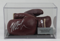 Mike Tyson Signed Macgregor Boxing Glove with Display Case (PSA COA) (See Description) at PristineAuction.com