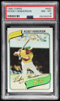 Rickey Henderson 1980 Topps #482 RC (PSA 8) at PristineAuction.com