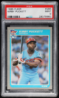 Kirby Puckett 1985 Fleer #286 RC (PSA 9) at PristineAuction.com