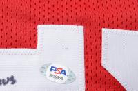 "Mark Price Signed Jersey Inscribed ""Go Cavs"" (PSA COA) (See Description) at PristineAuction.com"