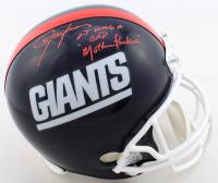 "Lawrence Taylor Signed Giants Full-Size Helmet Inscribed ""LT Was A Bad Mother F*****"" (JSA COA) at PristineAuction.com"