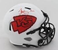 "Tyreek Hill Signed Chiefs Full-Size Lunar Eclipse Alternate Speed Helmet Inscribed ""Cheetah"" (JSA COA) (See Description) at PristineAuction.com"