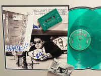 "Mike D, Ad-Rock & MCA Signed Beastie Boys - ""Ill Communication"" 19x30 Custom Framed Album Display (JSA LOA) at PristineAuction.com"
