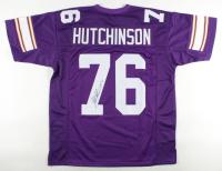 "Steve Hutchinson Signed Jersey Inscribed ""HOF 20"" (JSA COA) at PristineAuction.com"