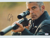"""George Clooney Signed """"The American"""" 11x14 Photo (PSA COA) at PristineAuction.com"""