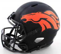 Jerry Jeudy Signed Broncos Full-Size Eclipse Alternate Speed Helmet (Beckett COA) at PristineAuction.com