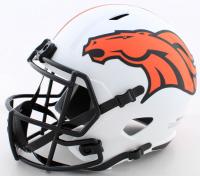 Jerry Jeudy Signed Broncos Full-Size Lunar Eclipse Alternate Speed Helmet (Beckett COA) at PristineAuction.com