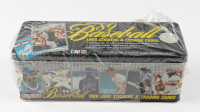 1989 Fleer Baseball Glossy Factory Set of (672) Baseball Cards with Commemorative Collectors Tin including Ken Griffey Jr RC, Randy Johnson RC (See Description)) at PristineAuction.com