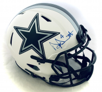 Dak Prescott Signed Cowboys Full-Size Authentic On-Field Lunar Eclipse Alternate Speed Helmet (Beckett COA) at PristineAuction.com