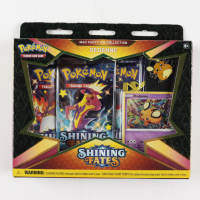 Pokemon Trading Card Game: Shining Fates Mad Party Pin Collection – Dedenne at PristineAuction.com