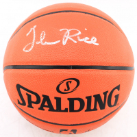 Glen Rice Signed NBA Game Ball Series Basketball (JSA COA) at PristineAuction.com