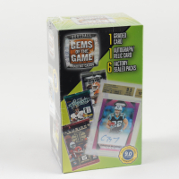 2020 Gems of the Game Football Blaster Box with (6) Packs (See Description) at PristineAuction.com