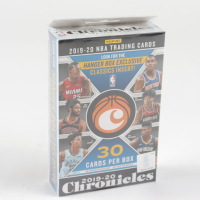 2019/20 Panini Chronicles Basketball Hanger Box with (30) Cards at PristineAuction.com