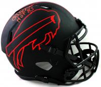 "O. J. Simpson Signed Bills Full-Size Eclipse Alternate Speed Helmet Inscribed ""HOF 85"" (JSA COA) at PristineAuction.com"
