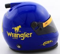 Dale Earnhardt Jr. Signed NASCAR Wrangler #3 Mini Helmet (Beckett COA) at PristineAuction.com