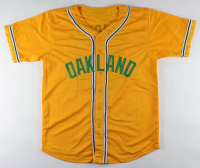 """Jose Canseco Signed Jersey Inscribed """"40/40"""" & """"The Chemist"""" (Beckett COA) at PristineAuction.com"""