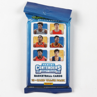 2020/21 Panini Contenders Draft Basketball Cello Pack with (18) Cards at PristineAuction.com