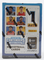 2020 Panini Contenders Draft Picks Basketball Card Blaster Box with (7) Packs (See Description) at PristineAuction.com