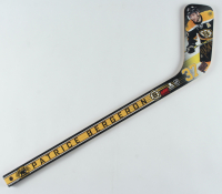 Patrice Bergeron Signed Boston Bruins Mini Hockey Stick (Bergeron COA) at PristineAuction.com