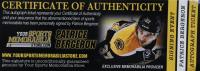 Patrice Bergeron Signed 2014 NHL Awards Mini Hockey Stick (Bergeron COA) at PristineAuction.com