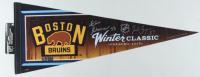 Patrice Bergeron & Zdeno Chara Signed Bruins 2016 Winter Classic Pennant (Bergeron COA & Chara COA) at PristineAuction.com