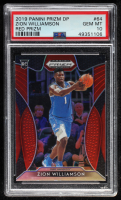 Zion Williamson 2019-20 Panini Prizm Draft Picks Prizms Red #64 RC (PSA 10) at PristineAuction.com
