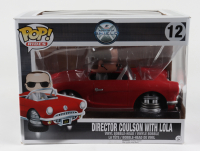 """Chloe Bennet Signed """"Agents Of S.H.I.E.L.D."""" #12 Director Coulson With Lola Funko Pop Figure Inscribed """"Daisy"""" (Beckett COA) (See Description) at PristineAuction.com"""