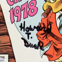 """Ed Gale Signed 1979 """"Howard The Duck"""" Issue #29 Marvel Comic Book Inscribed """"Howard T. Duck"""" & """"(Gulp)"""" (Beckett COA & PSA Hologram) at PristineAuction.com"""