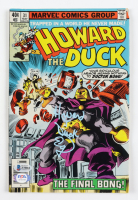 "Ed Gale Signed 1979 ""Howard The Duck"" Issue #31 Marvel Comic Book Inscribed ""Howard T. Duck"" (Beckett COA) at PristineAuction.com"