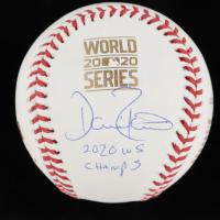 "Dave Roberts Signed 2020 World Series Logo Commemorative Baseball Inscribed ""2020 WS Champs"" (JSA COA) at PristineAuction.com"